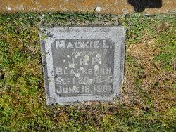 Mary McMillan Mackie <i>Laird</i> Blackburn