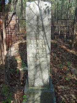 Frances Janie <i>Hall</i> Raines