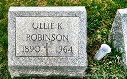 Ollie K Robinson