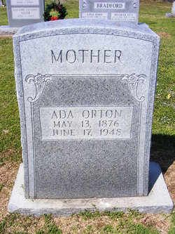 Ada Prudence <i>Allen</i> Orton