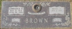 Mary Virginia <i>Crutchfield</i> Brown