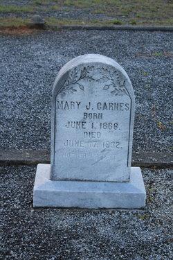 Mary Jane <i>Hughes</i> Carnes