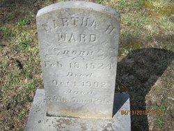 Martha H. <i>Burgoyne</i> Ward