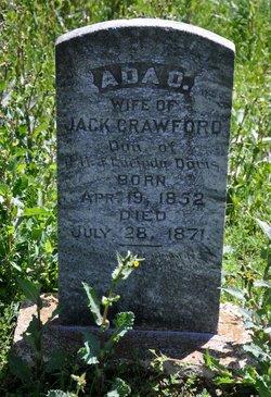 Ada O <i>Davis</i> Crawford