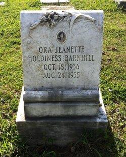 Ora Jeanette <i>Holdiness</i> Barnhill