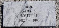 Alma Lorene <i>Sims</i> Boatright