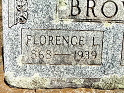 Florence Louella <i>Roberts</i> Brown