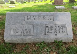Millie Ann <i>Kerns</i> Myers
