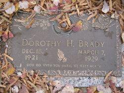 Dorothy Kathleen <i>Harvell</i> Brady