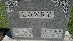 Jesse A. Lowry