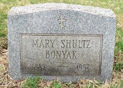 Mary Shultz (or E.) Bonyak