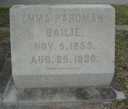Emma <i>Hardman</i> Bailie