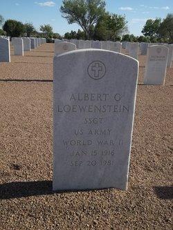Albert G Loewenstein