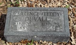Clarence Marion Teddy Duvall