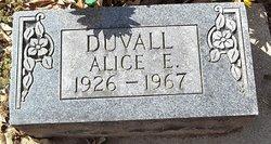 Alice E Duvall