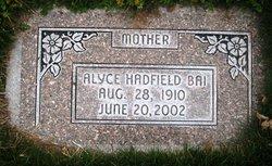 Alyce <i>Hadfield</i> Bai