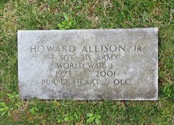 Sgt Howard Jennings Allison, Jr