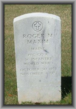 Roger M Maxim