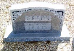 Ida <i>Harvey</i> Green