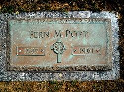 Fern M <i>Duncan</i> Poet
