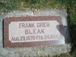 Francis Grier Frank Bleak