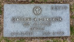 Robert George Hedlund