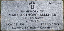 Mark Anthony Allen, Sr