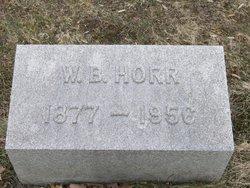 William Bert Horr