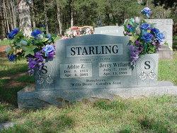 Addie Z. <i>Haller</i> Starling