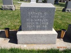 Esther E Morley