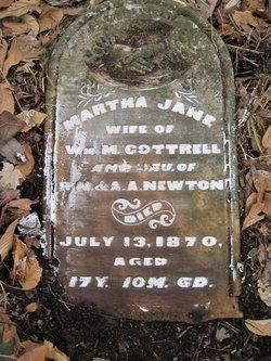 Martha Jane <i>Newton</i> Cottrell