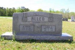 Clara <i>Huggins</i> Allen