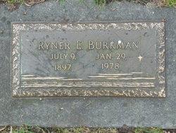 Ryner E Burkman