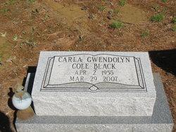 Carla Gwendolyn <i>Cole</i> Black