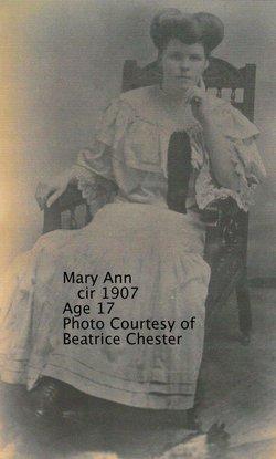Mary Ann <i>Dyas</i> Harrington