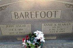 Annie K. <i>Beasley</i> Barefoot