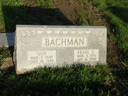 Pearl <i>Casto</i> Bachman