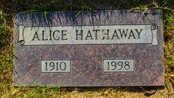 Alice Hathaway
