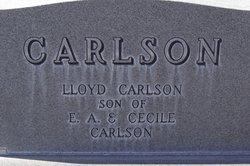 Lloyd E Carlson