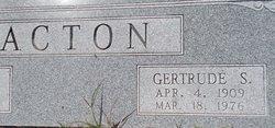 Gertrude S. Acton