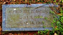 Alfred E I.D. Barefoot