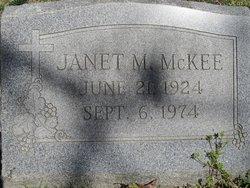 Janet M McKee