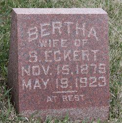 Bertha <i>Geisler</i> Eckert