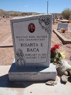 Rosarita <i>Esquibel</i> Baca