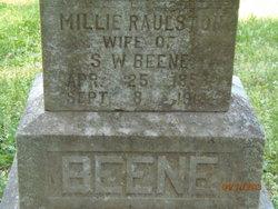 Millie <i>Raulston</i> Beene