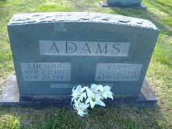 Nancy Jane <i>Milstead</i> Adams