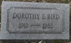Dorothy E <i>Keller</i> Bird