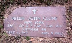PFC Brian John Clune