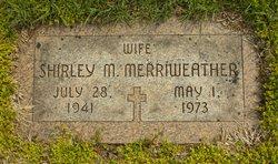 Shirley M. Merriweather