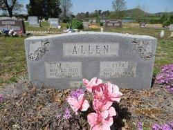 Etta Josephine <i>Norwood</i> Allen